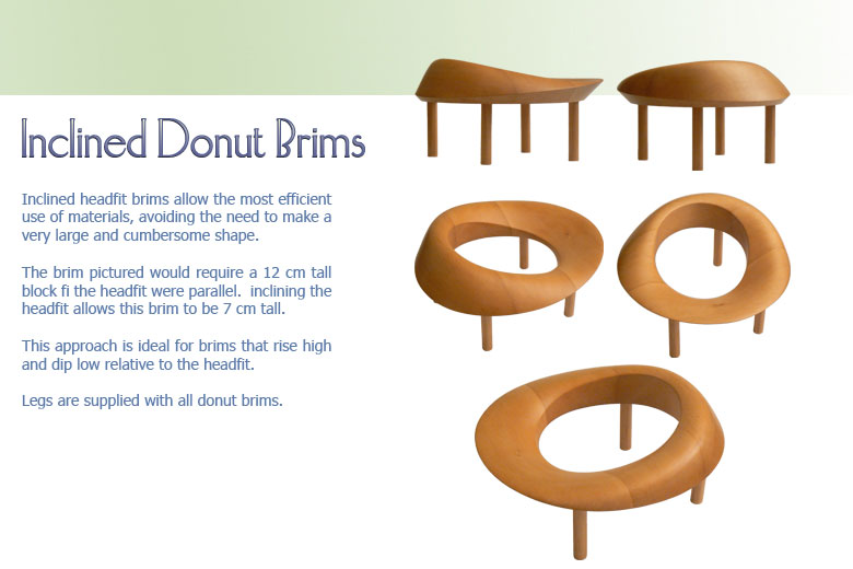 Inclined Donut Brims 1