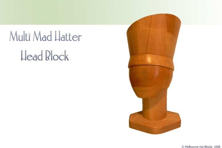Multi Mad Hatter + Head Block