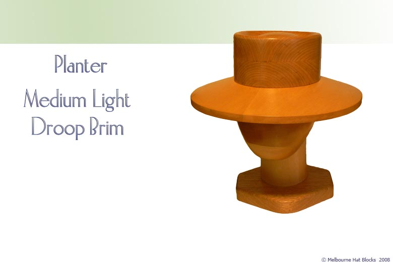 Planter + Medium Light Droop