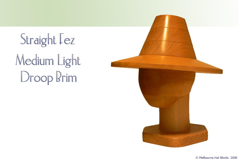 Straight Fez + Medium Light Droop