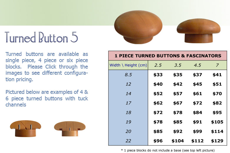 Turned Button 5 1